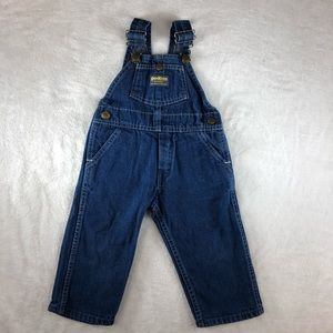 VTG Oshkosh BGosh Childs Size 2T Denim Overalls